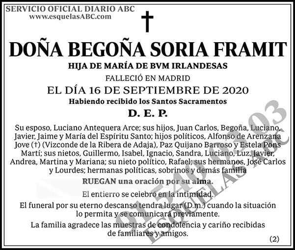 Begoña Soria Framit