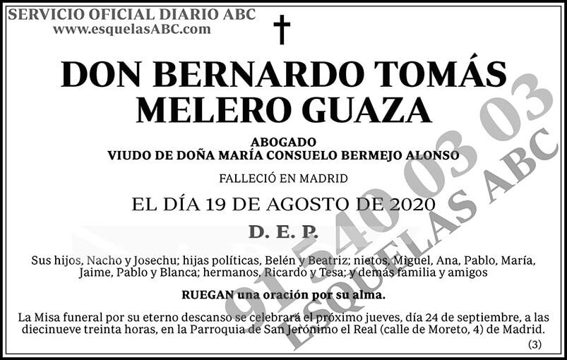 Bernardo Tomás Melero Guaza