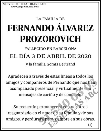 Fernando Álvarez Prozorovich