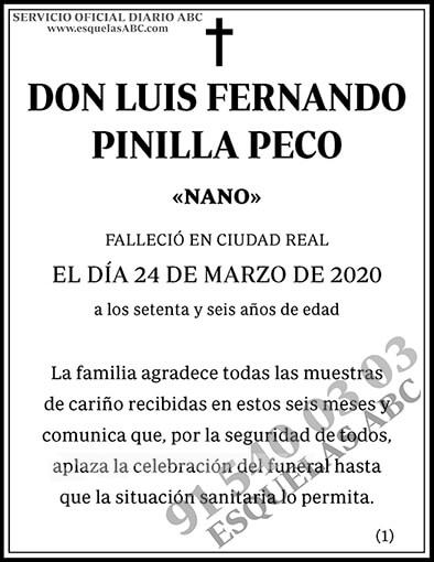 Luis Fernando Pinilla Peco