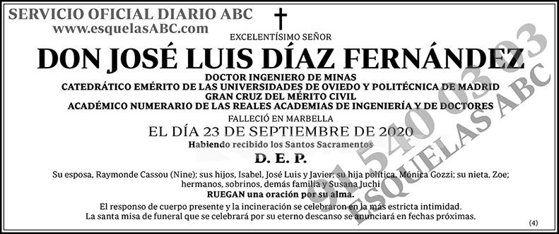 José Luis Díaz Fernández