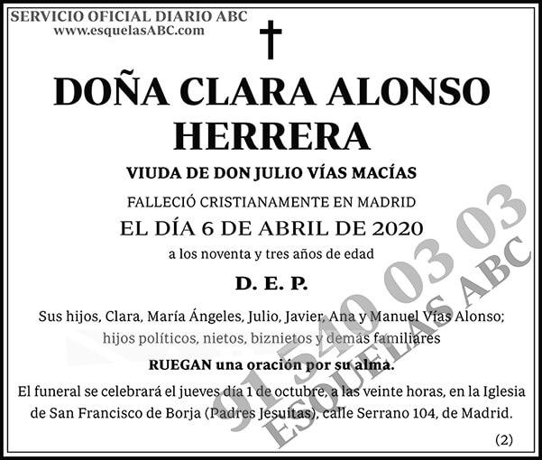 Clara Alonso Herrera