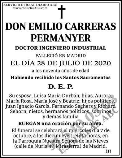 Emilio Carreras Permanyer