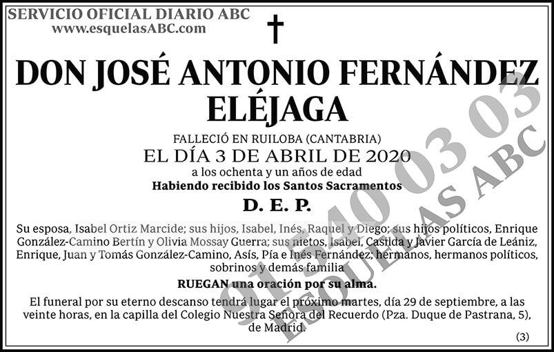 José Antonio Fernández Eléjaga