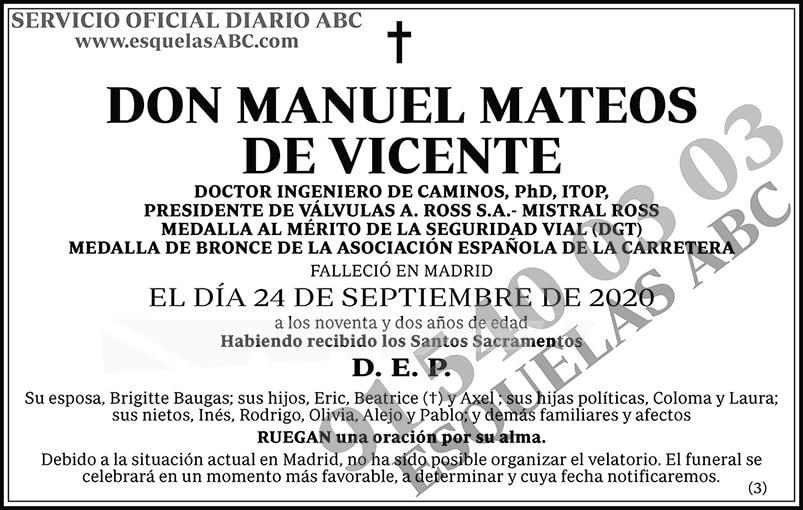 Manuel Mateos de Vicente