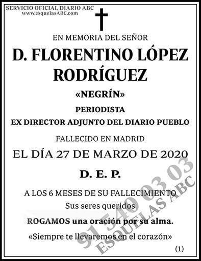 Florentino López Rodríguez