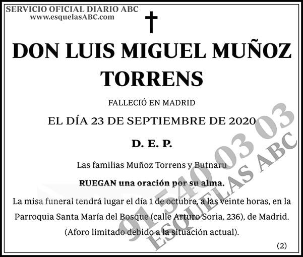 Luis Miguel Muñoz Torrens