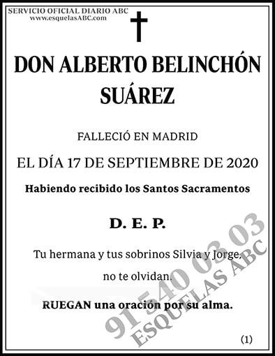 Alberto Belinchón Suárez