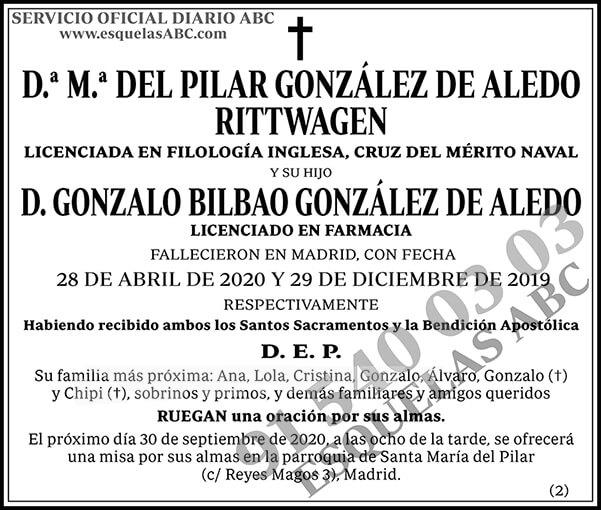 M.ª del Pilar González de Aledo Rittwagen