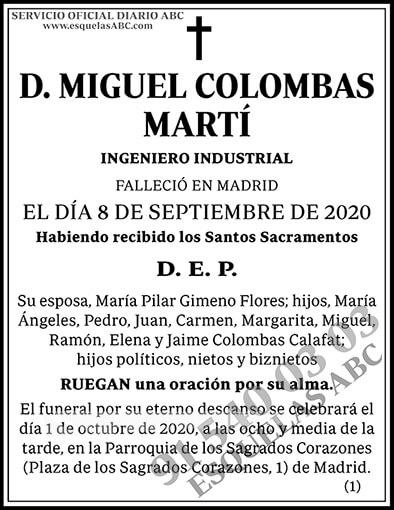 Miguel Colombas Martí