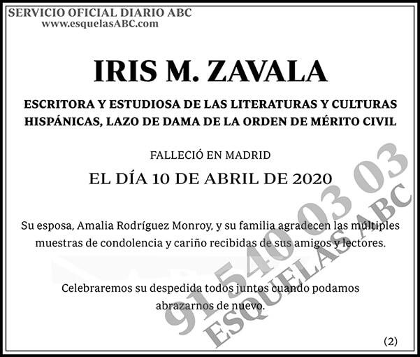Iris M. Zavala