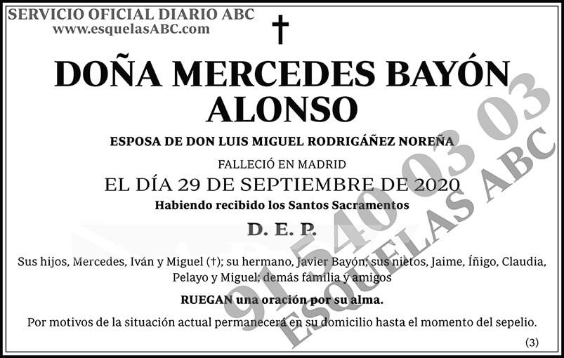 Mercedes Bayón Alonso