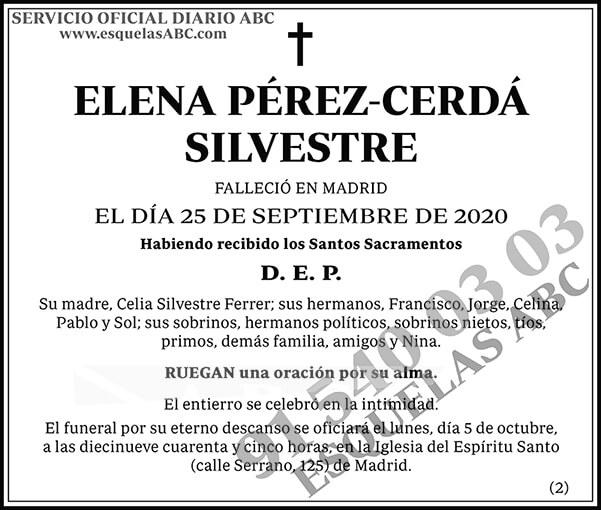Elena Pérez-Cerdá Silvestre