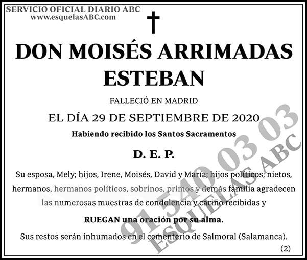 Moisés Arrimadas Esteban