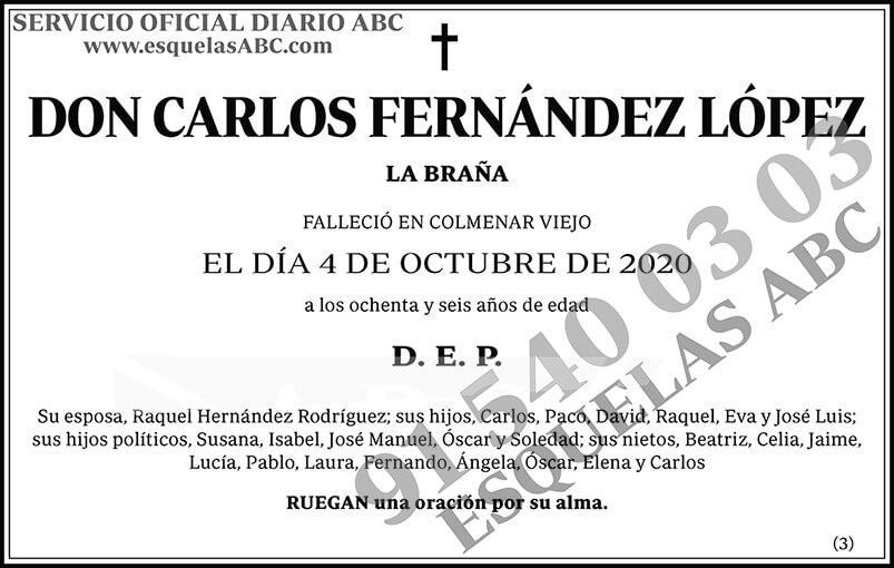 Carlos Fernández López