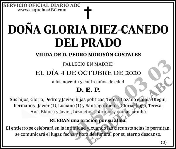 Gloria Diez-Canedo del Prado