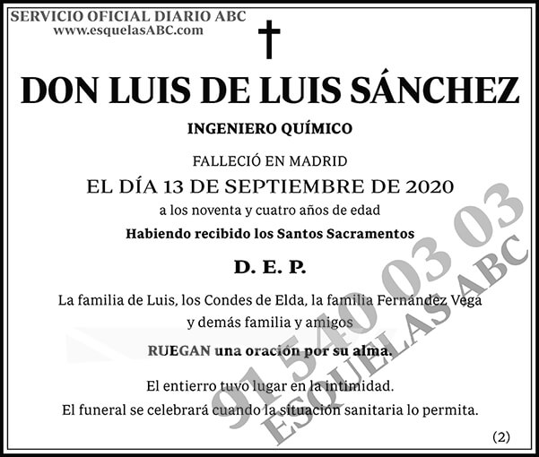 Luis de Luis Sánchez