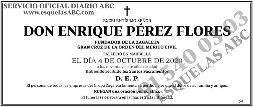 Enrique Pérez Flores