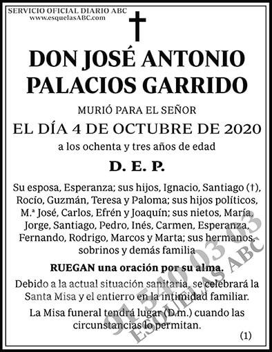 José Antonio Palacios Garrido