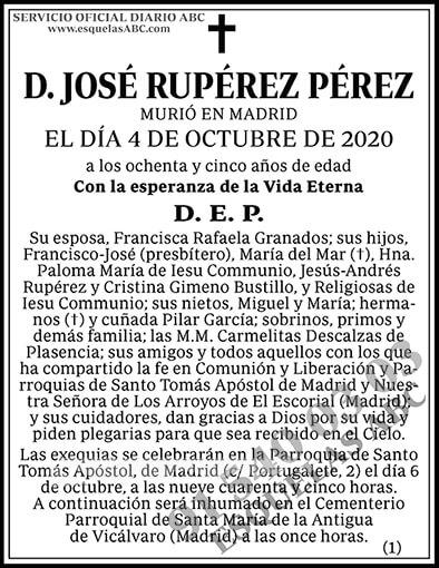 José Rupérez Pérez
