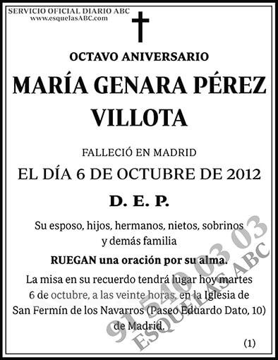 María Genara Pérez Villota