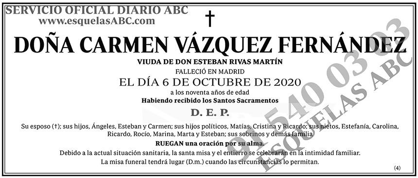 Carmen Vázquez Fernández