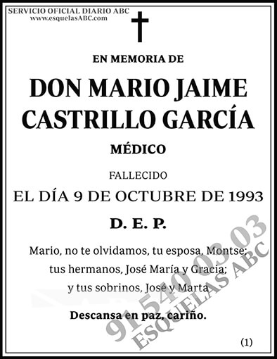 Mario Jaime Castrillo García