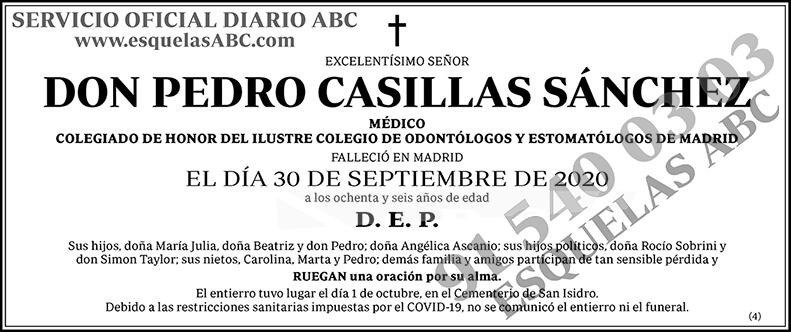 Pedro Casillas Sánchez