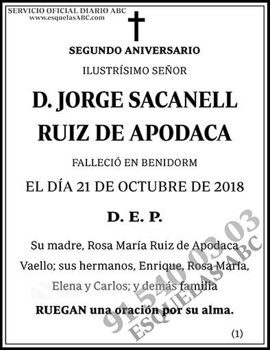 Jorge Sacanell Ruiz de Apodaca
