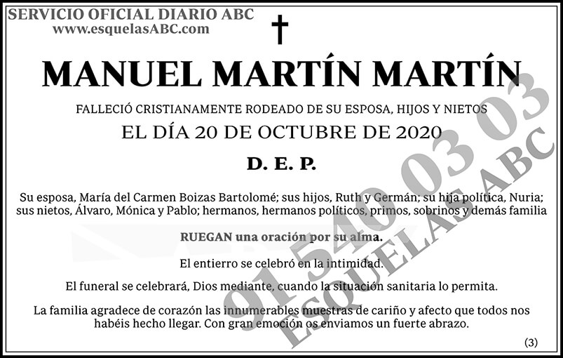 Manuel Martín Martín