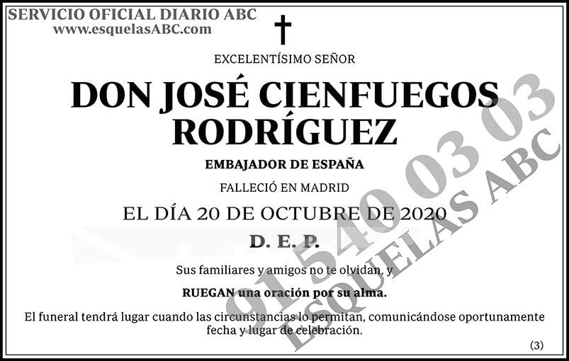 José Cienfuegos Rodríguez