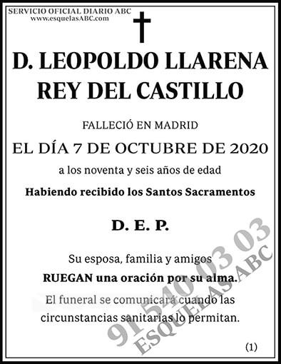 Leopoldo Llarena Rey del Castillo