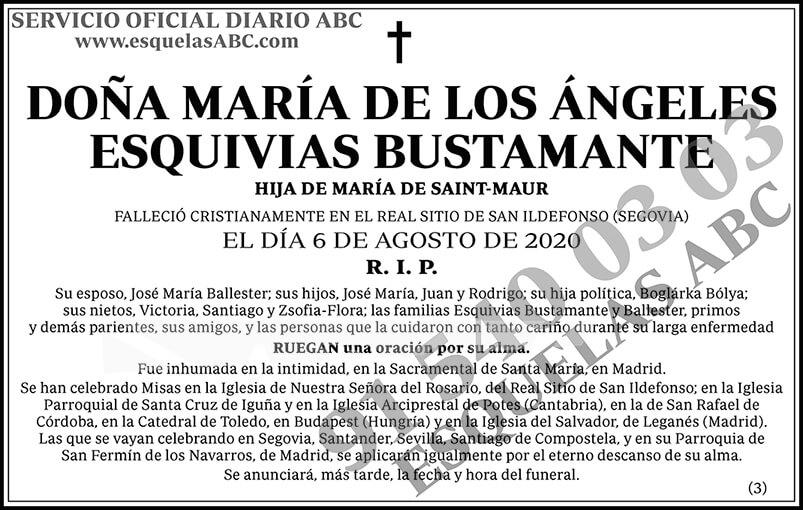 María de los Ángeles Esquivias Bustamante