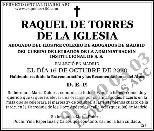 Raquel de Torres de la Iglesia
