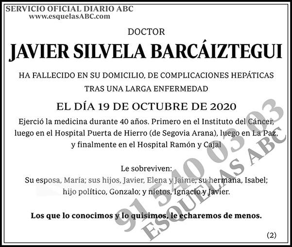 Javier Silvela Barcáiztegui