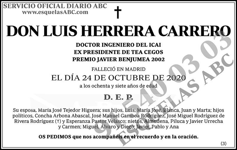 Luis Herrera Carrero