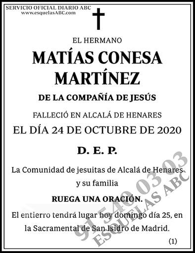 Matías Conesa Martínez
