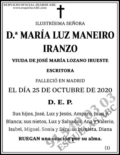 María Luz Maneiro Iranzo