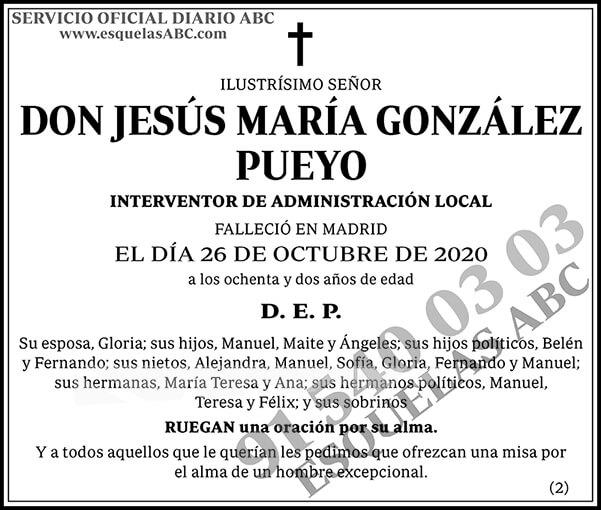 Jesús María González Pueyo