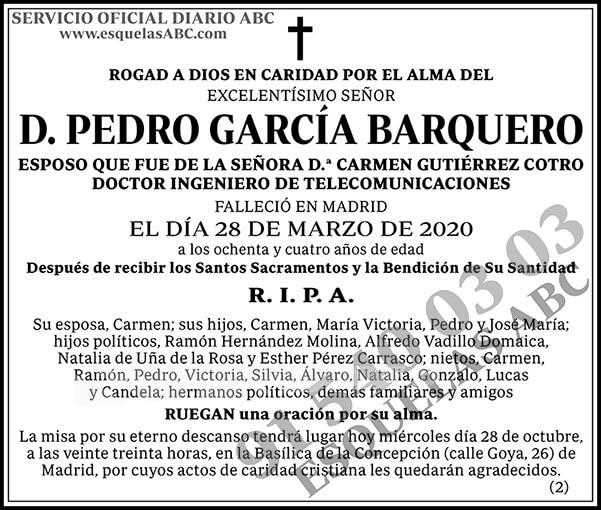 Pedro García Barquero