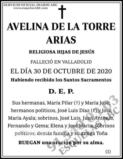 Avelina de la Torre Arias