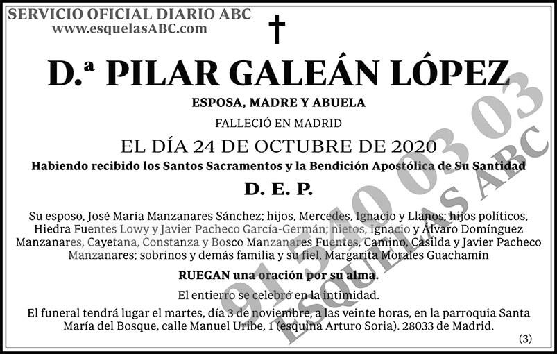 Pilar Galeán López