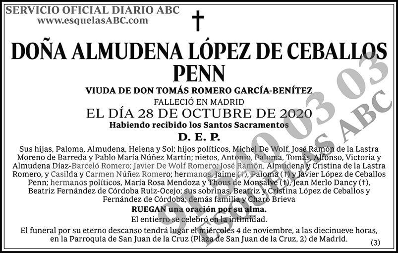 Almudena López de Ceballos Penn