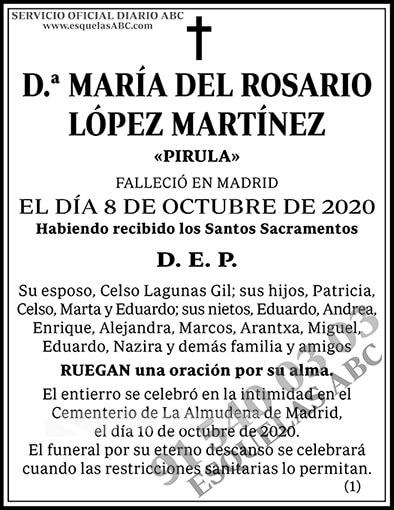 María del Rosario López Martínez