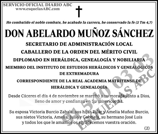 Abelardo Muñoz Sánchez