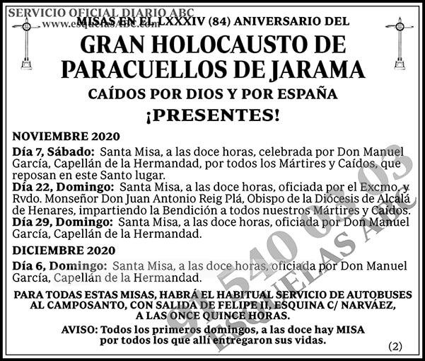 Holocausto de Paracuellos de Jarama
