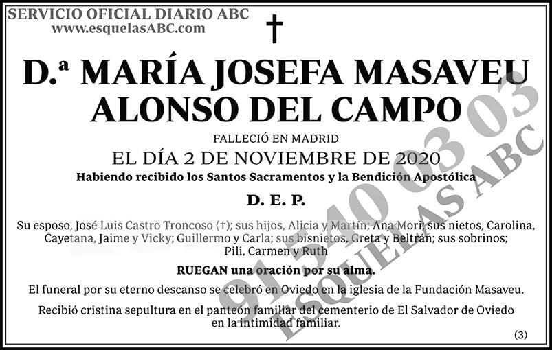 María Josefa Masaveu Alonso del Campo