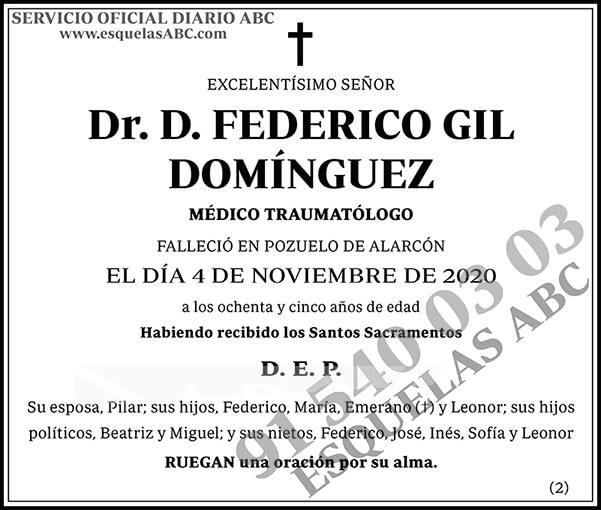 Federico Gil Domínguez