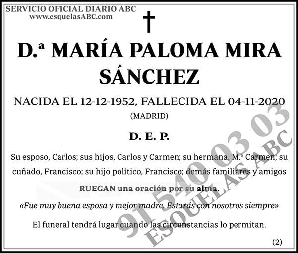 María Paloma Mira Sánchez