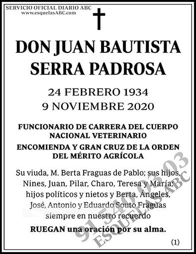 Juan Bautista Serra Padrosa
